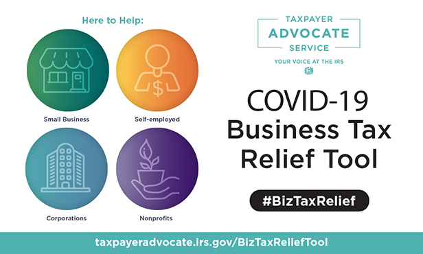 TAS COVID-19 Business Tax Relief Tool