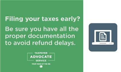 Filing-Early-Can-Cause-Refund-Delays
