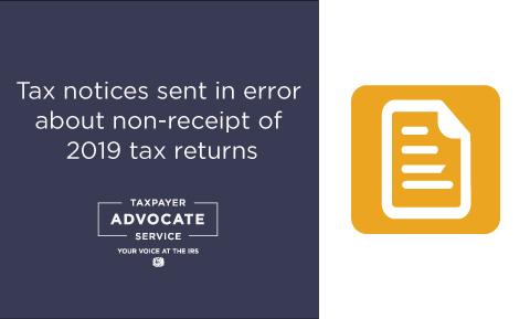 IRS CP59 Tax Notices Sent in Error
