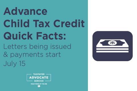 Advance Child Tax Credit Quick Facts