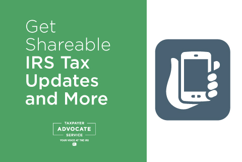 Get Shareable IRS Tax Updates and More